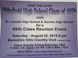 PHS 45th Reunion Invite