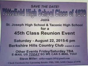 PHS 45th Reunion Invite