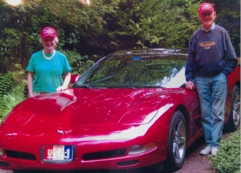 Nampa and his corvette