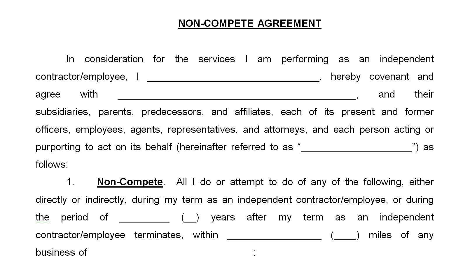 radio s non compete contracts dicktaylorblog