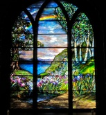 Serenity Stained Glass Window
