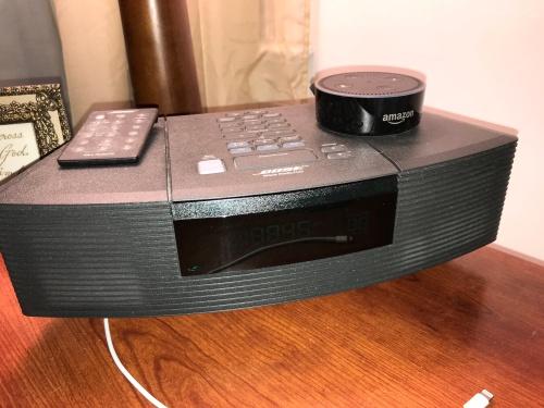 Amazon Echo Dot & Bose Wave Radio