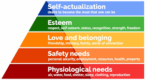 Maslow's Needs Pyramid