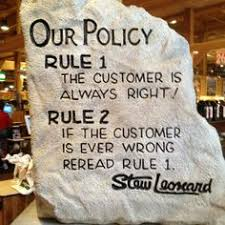 Stew Leonard Customer Policy
