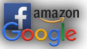 Facebook Amazon Google Logos