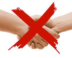 don't handshake