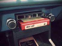 Car 8-track player radio